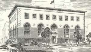 Original Drawing of Our Building